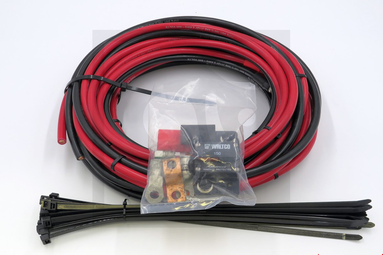 80001320 KIT, #2 DUAL CABLE W/CB